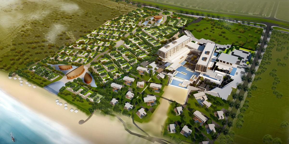 Vị trí dự án The Westin Cam Ranh